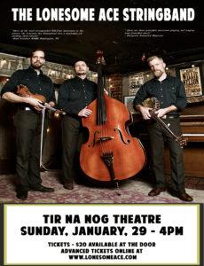 The Lonesome Ace Stringband January 29 @ 4.00