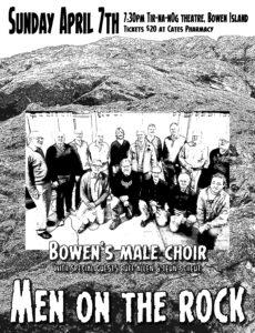 Men on the Rock April 7th 7.30
