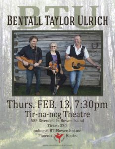 BTU Bowen Poster Feb 13 @ 7.30 2020